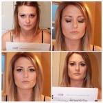 Arianna's Classic Makeup Application