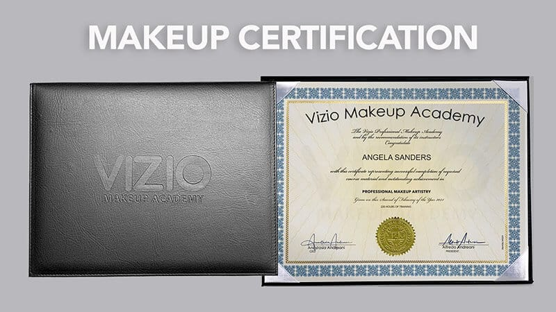 Makeup school certification