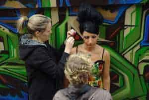 Dublin Irlanda Escuela artista de maquillaje