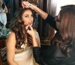 Mumbai maquillaje Escuela artista
